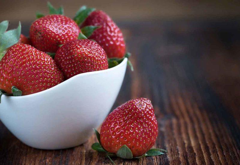 Fresas al natural